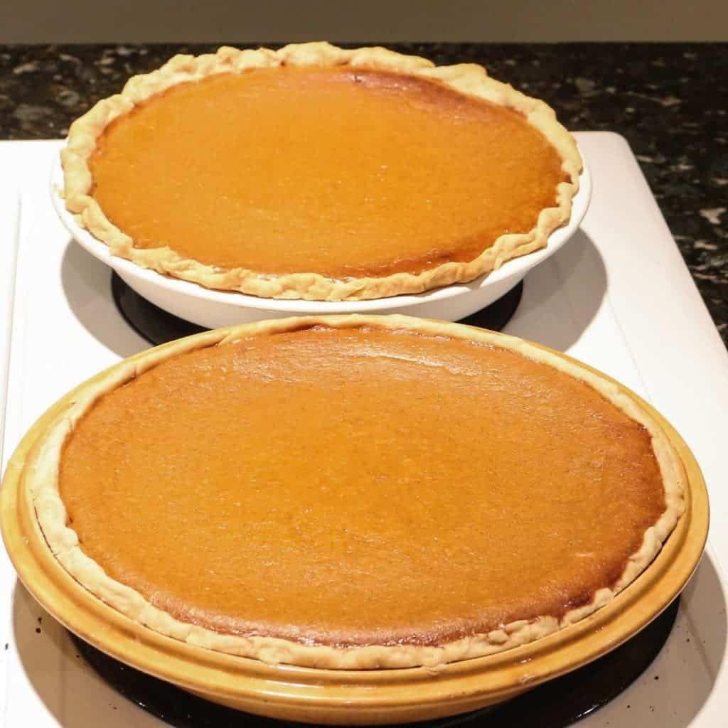 Sweet Potato Pumpkin Pie