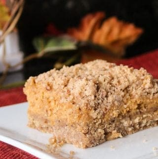 pumpkin cheese bars