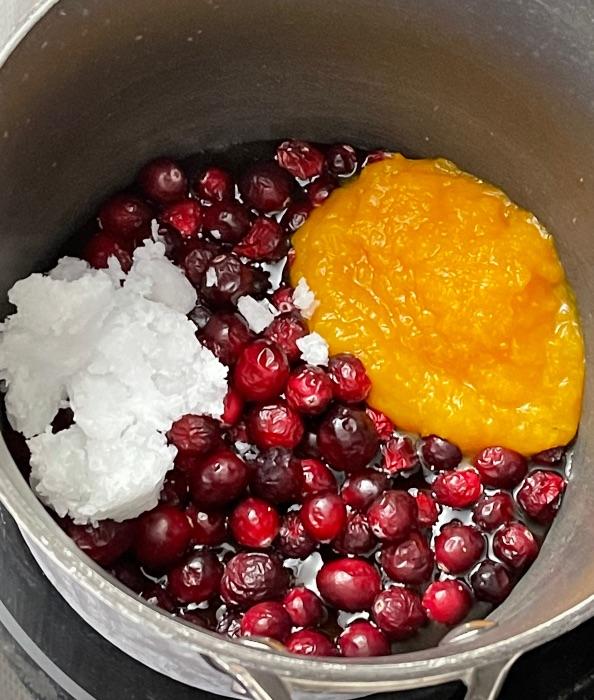 Wet Ingredients For Pumpkin Granola