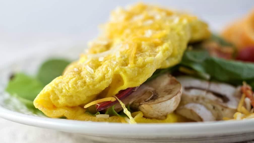 Filled omelette