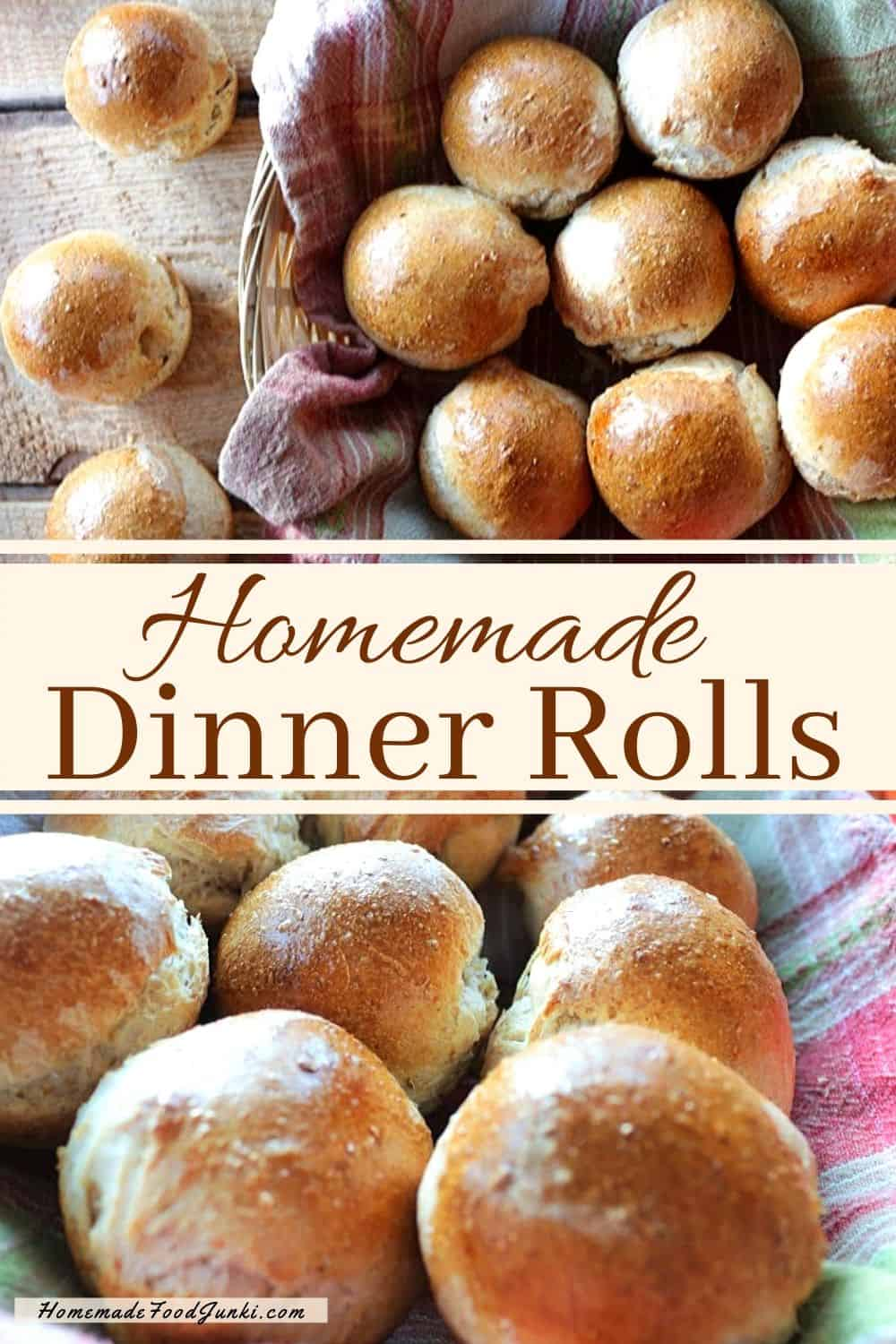 Homemade Dinner Rolls-pin image