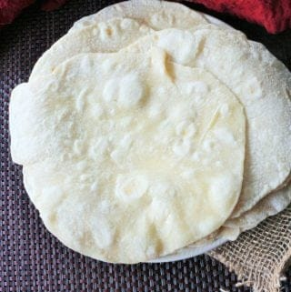 Homeamde Flour Tortillas