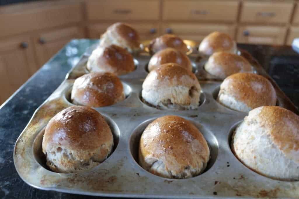 Homemade roll Dough