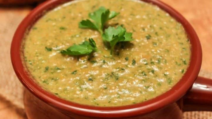 Detox Red lentil Soup
