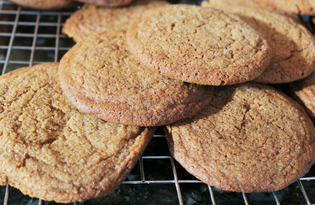 Molasses Cookies With Coconut Oil