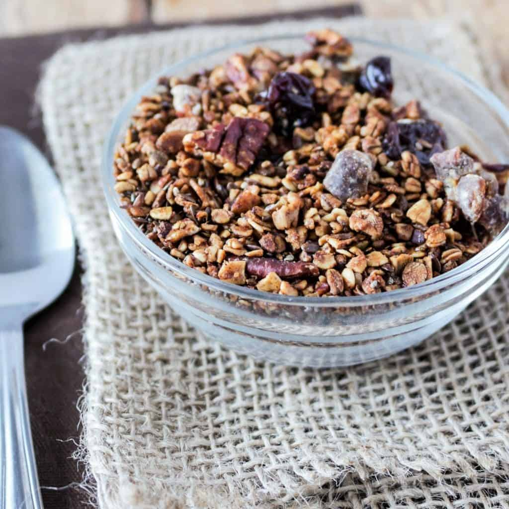 steel cut granola