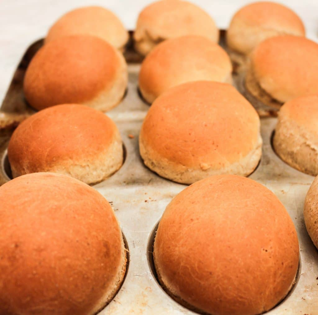 Homemade Slider Rolls