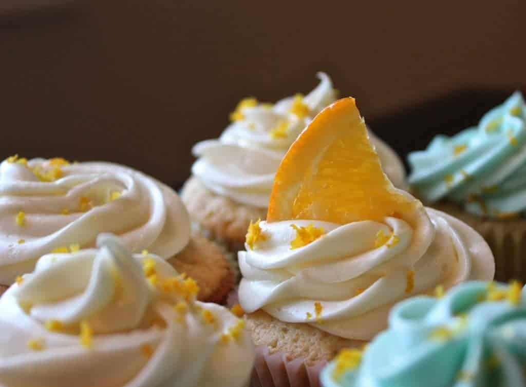 Homemade Blue Moon Cupcakes make great party food! http://Homemadefoodjunkie.com