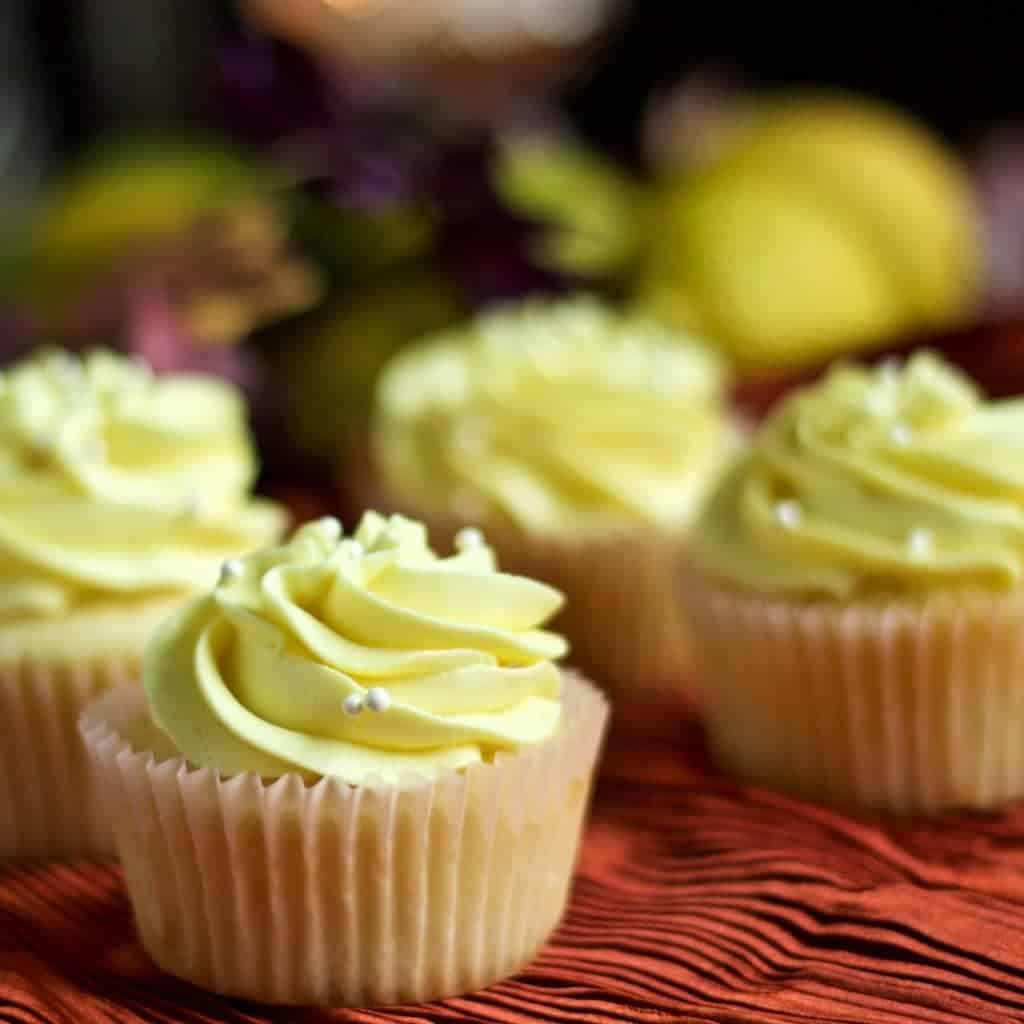 Lemony Lemon Cupcakes