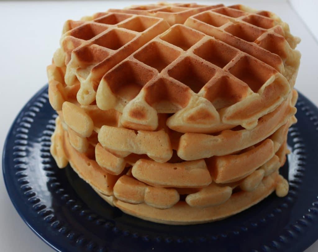Crispy Light Waffles | Homemade Food Junkie