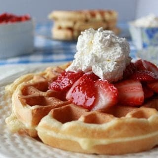 Crispy Light Waffles