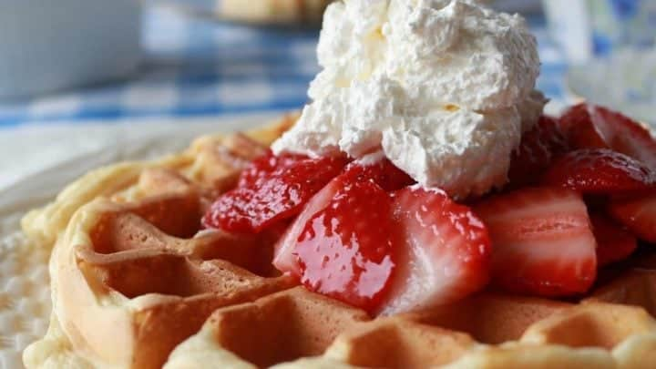 Crispy Light Waffles