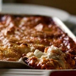 5 cheese homemade lasagna