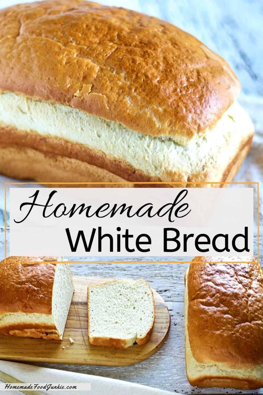 Homemade White Bread-pin image