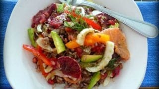 Healthy Wild Rice Citrus Salad