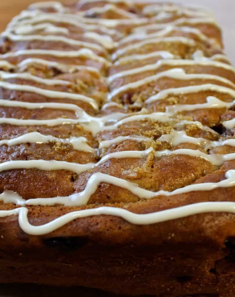 Strawberry Bread Bursting With Fresh Strawberry Flavor And Topped With A Sweet Sugar Glaze