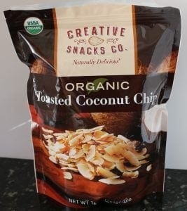 Organic Toasted Coconut Chips