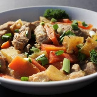 Crock Pot Asian Pineapple Pork