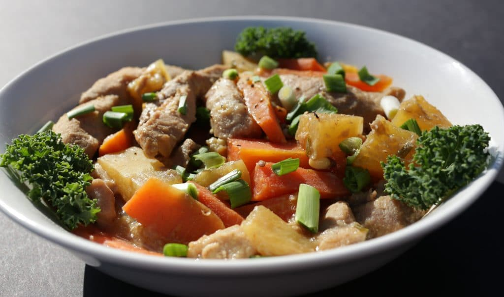 Crock Pot Asian Pineapple pork Homemade Food Junkie