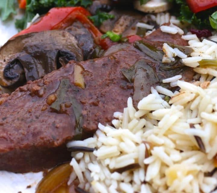 Crock Pot Beef, mushrooms and gravy
