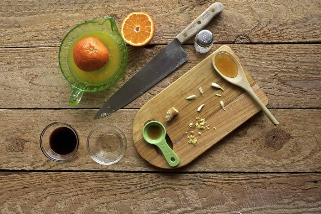Asian Orange Sauce ingredients