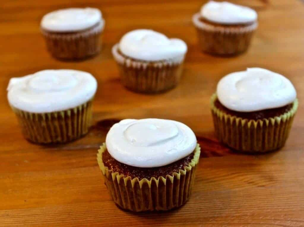 Gourmet Carrot Cupcakes recipe by Ad Hoc Chef Thomas Keller http://HomemadeFoodJunkie.com
