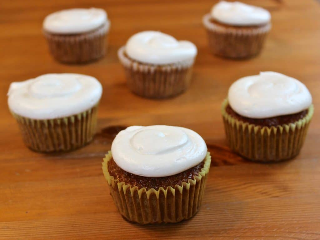 Fluffy Carrot Muffins With Cream Cheese Frosting Recipe ...