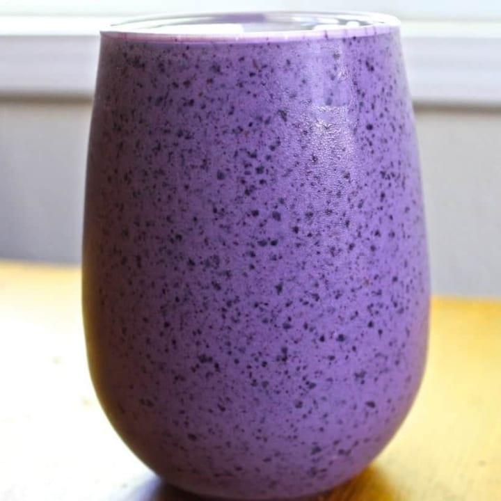 Blueberry Banana Smoothie Antioxidant Gluten Free Recipe