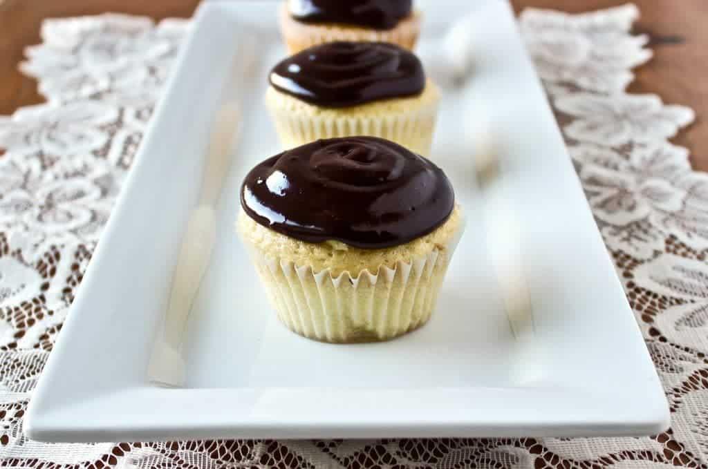 Chocolate Eclair Cupcakes