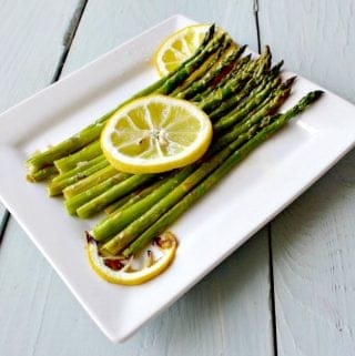 Roasted Asparagus Recipe makes a wonderful healthy side dish