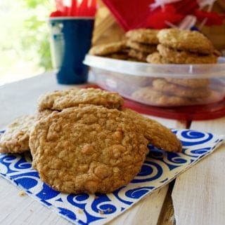 5 Grain Butterscotch Cookies