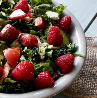 Spring Garden Berry salad