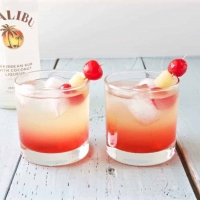 Malibu Sunset Cocktail-pin image