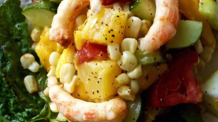 Grilled Shrimp Mango Salad