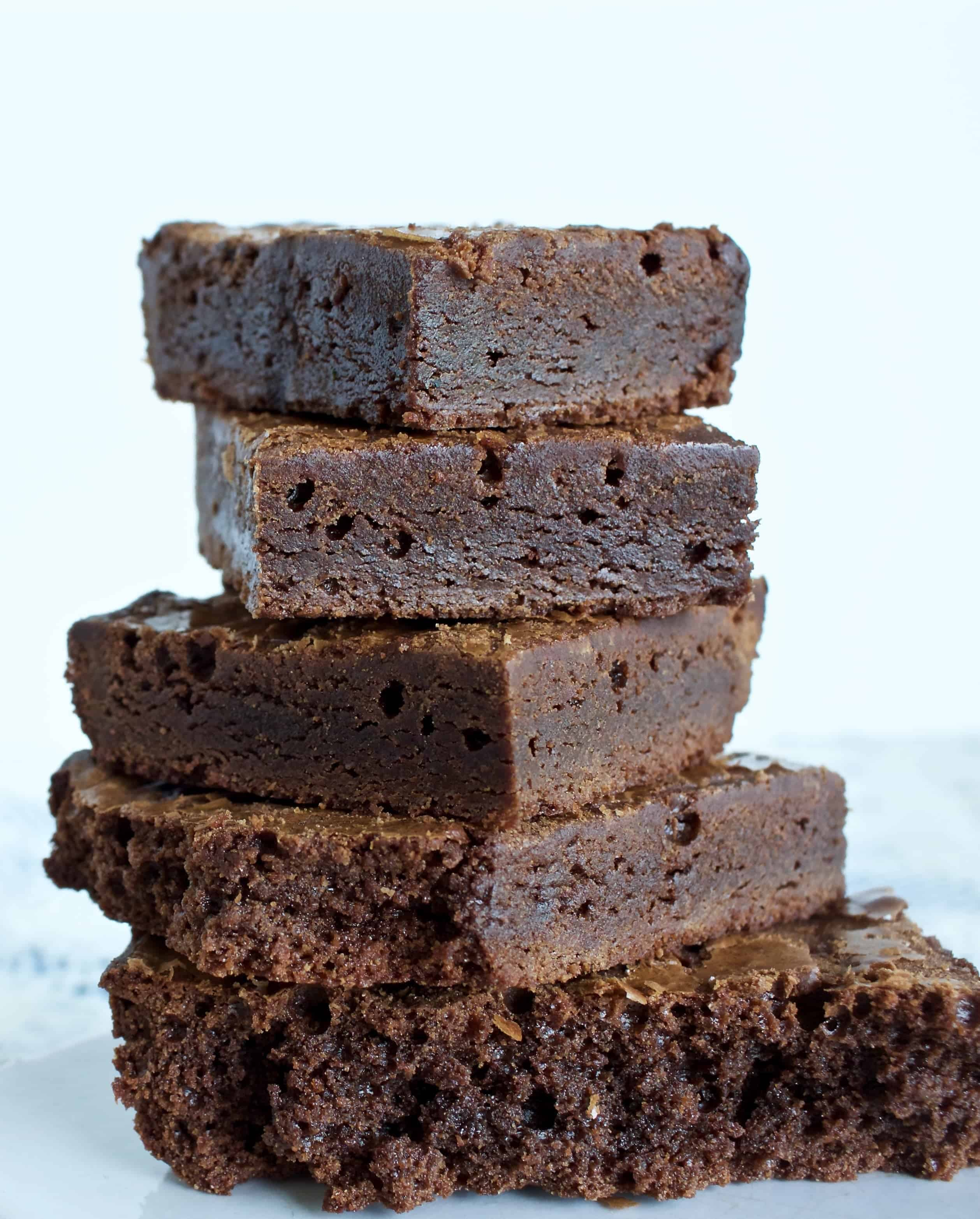 Luscious Scratch Brownies