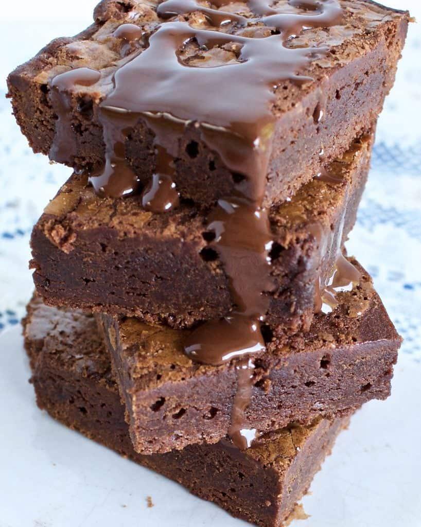 Luscious Scratch Brownies