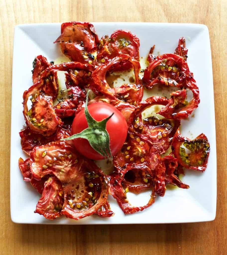 Home Dried tomatoes