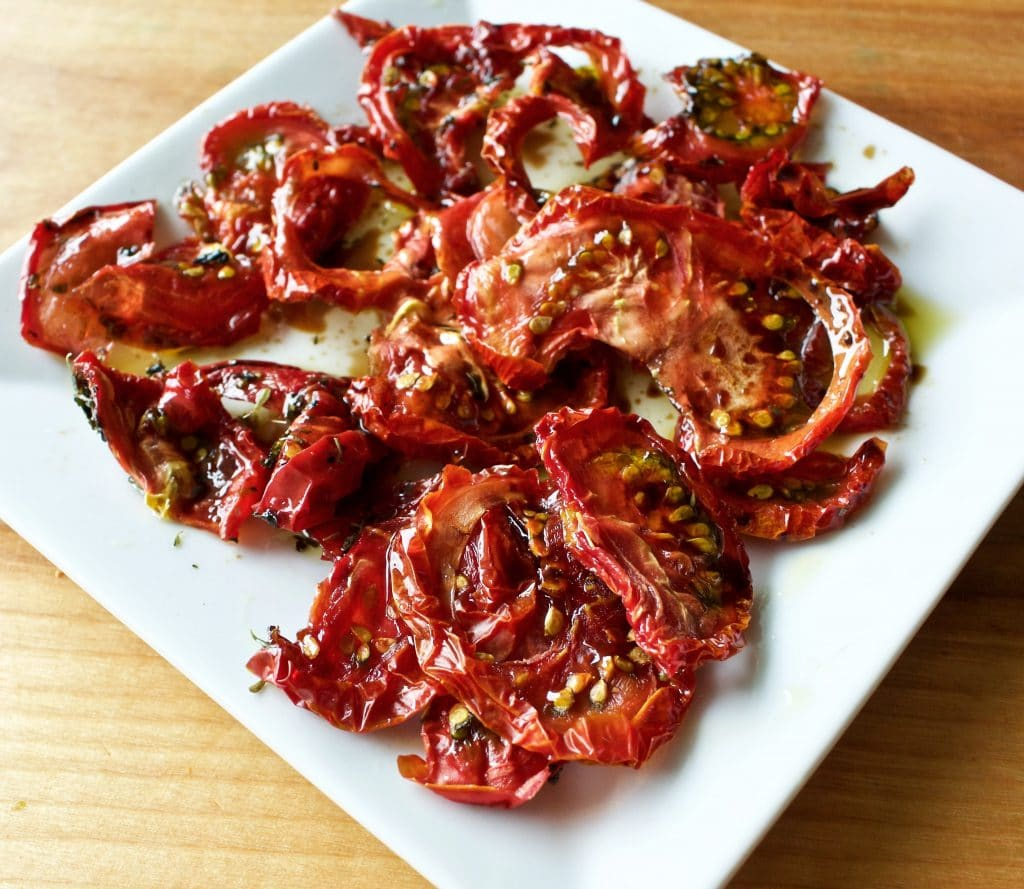 "Homemade ""Sun dried"" tomatoes 