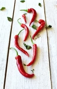 Red Flame Peppers