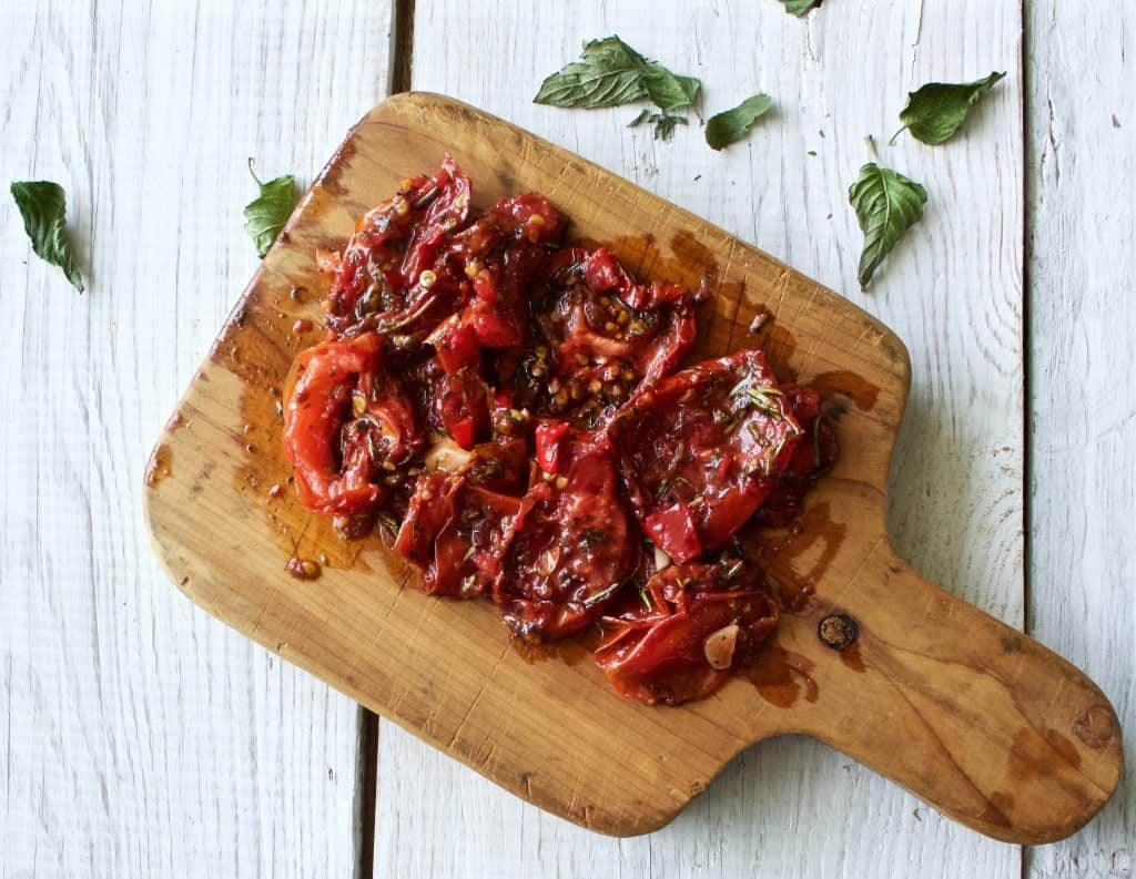 Homemade sun dried tomatoes homemade food junkie - Make sun dried tomatoes explosion flavor ...