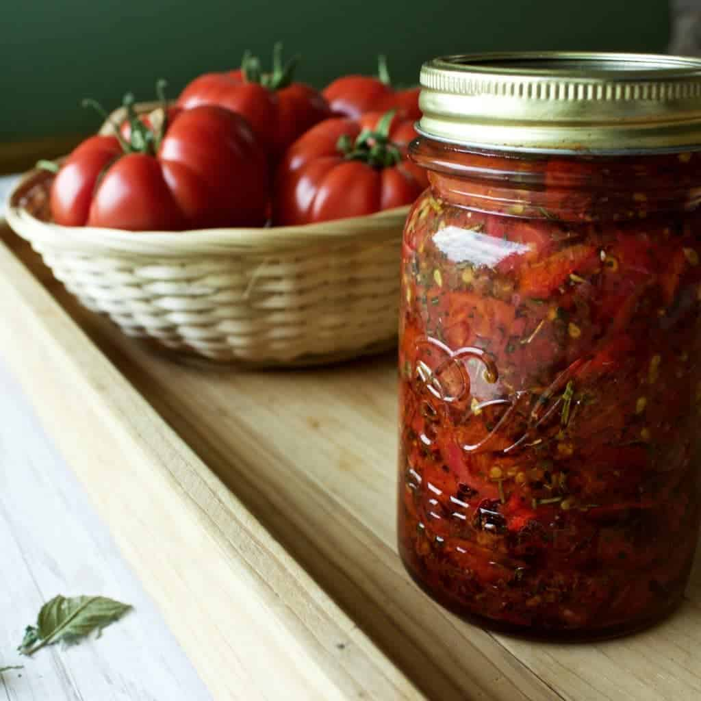 Easy homemade marinara sauce homemade food junkie - Make sun dried tomatoes explosion flavor ...