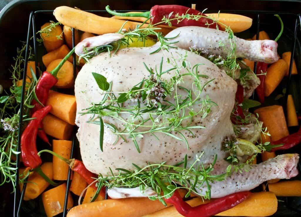 Roasted Herbed Chicken Dinner