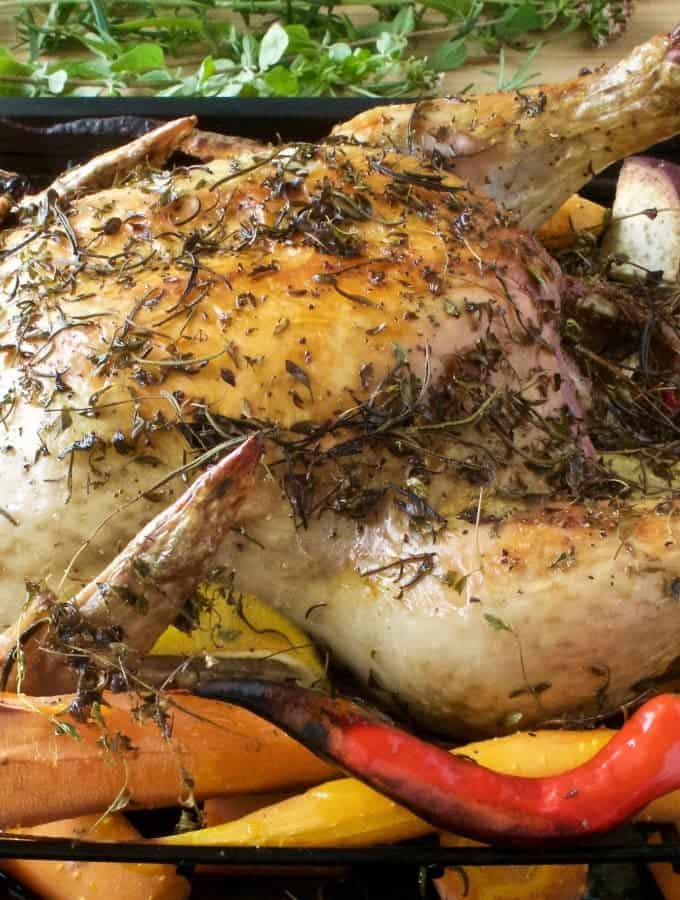 ... Dijon Roasted Herbed Chicken Dinner Honey Mustard Chicken Slow cooker