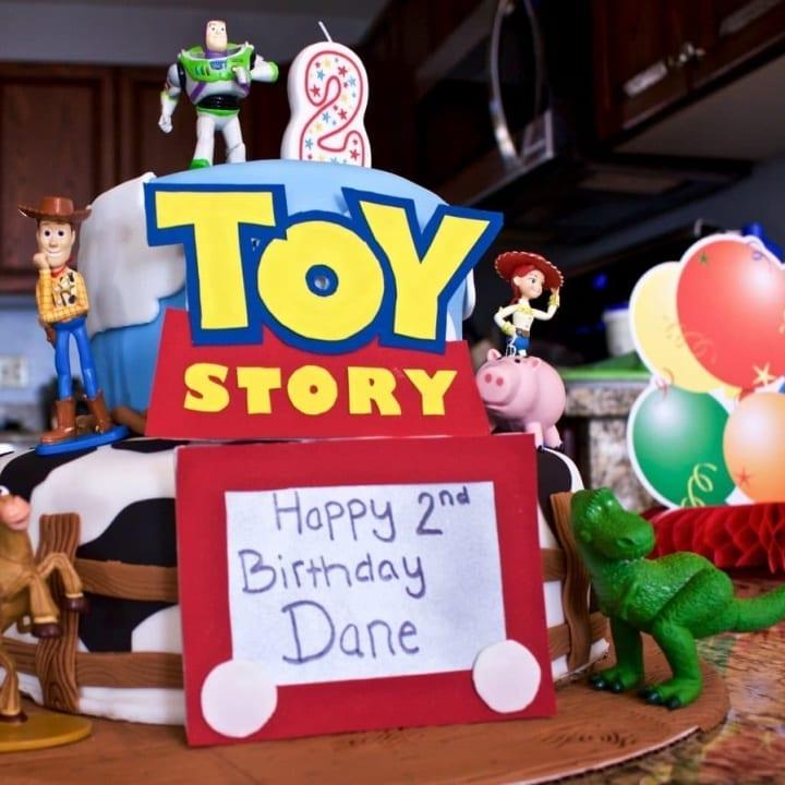 Toy Story fondant Cake Tutorial