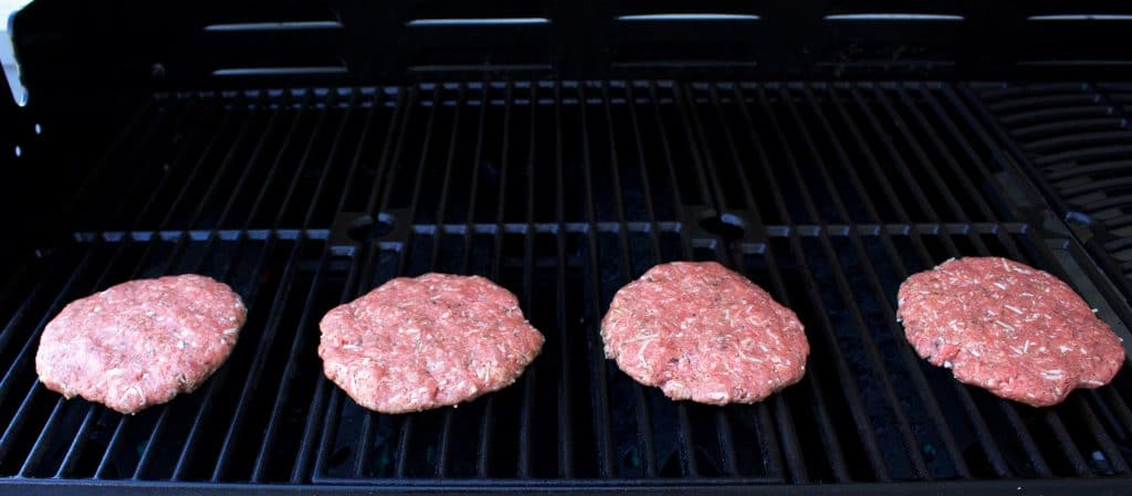 Nathan's Italian style Homemade Hamburgers