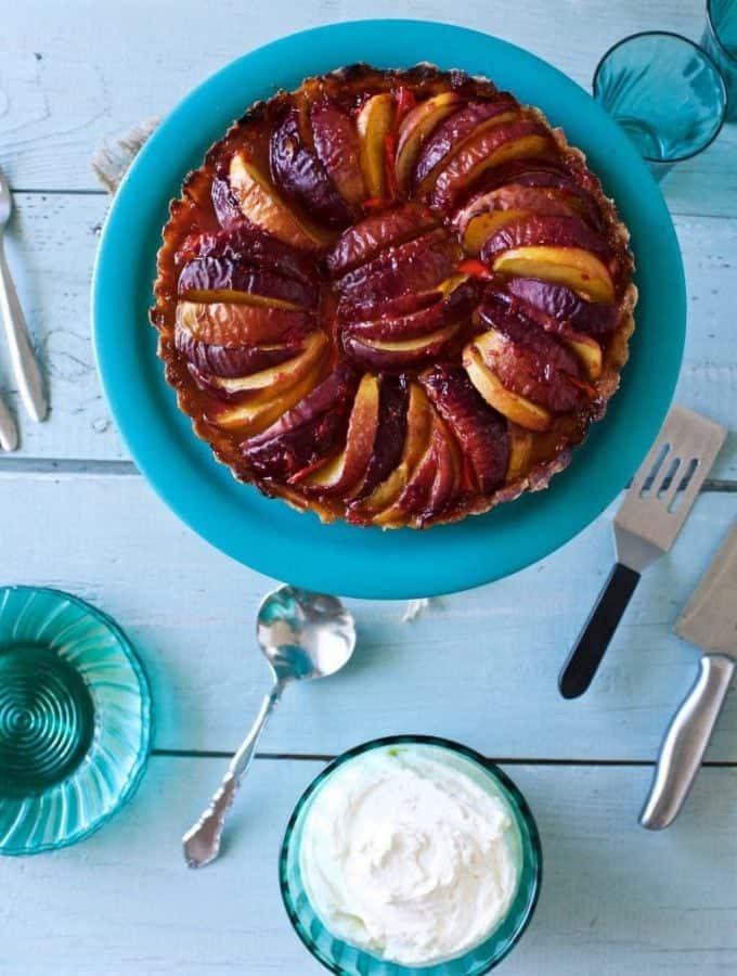 Peach Pepper Tart Recipe
