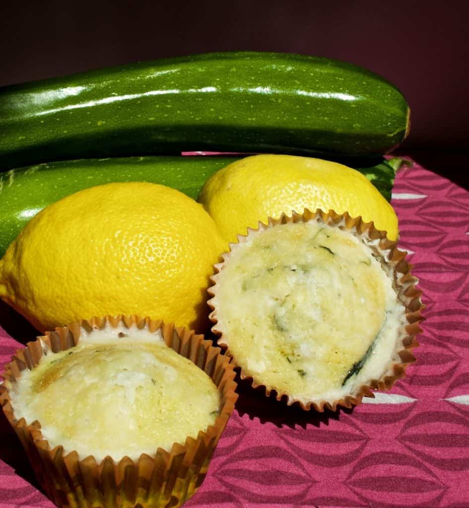 Zucchini Lemon muffins