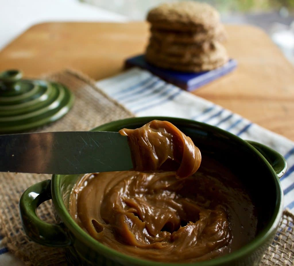 Inger's Single Ingredient Caramel Spread