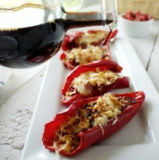 Roasted Peppers Parmesan Recipe