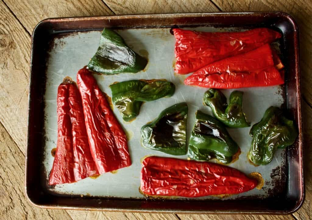 Dave's Peppers Roasted